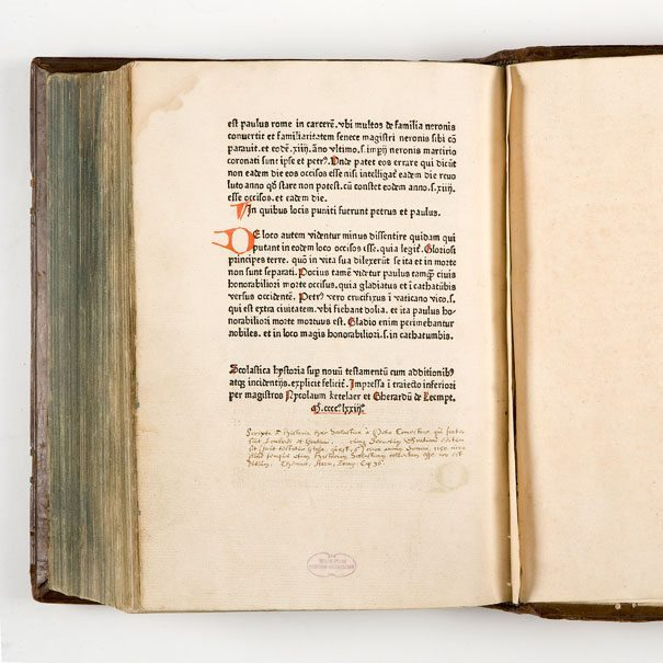 First printed book in the Netherlands